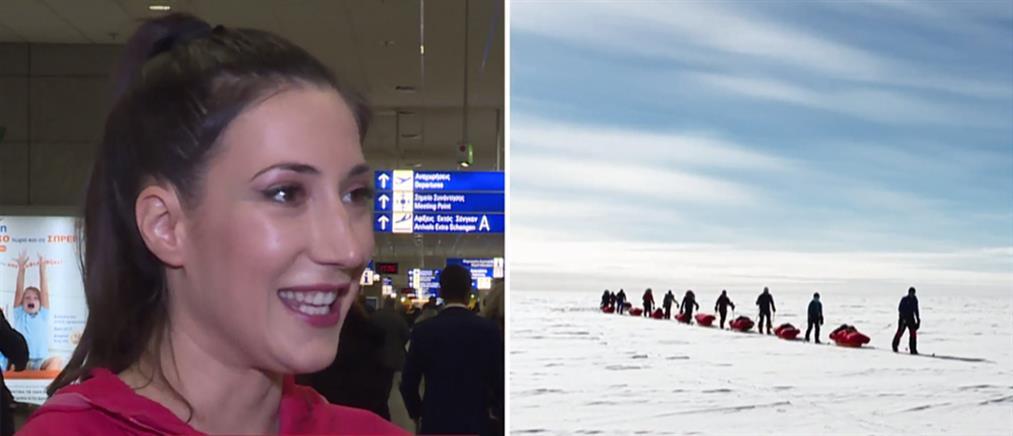 """""""7 Summits"""": Μιλά στον ΑΝΤ1 η Ελληνίδα που """"πάτησε"""" στην υψηλότερη κορυφή κάθε ηπείρου της Γης (βίντεο)"""