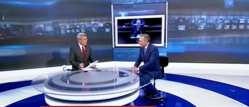 Φίλης στον ΑΝΤ1: Η Τουρκία καθιστά σαφές ότι η διαπραγμάτευση γίνεται με τους δικούς της όρους  (βίντεο)