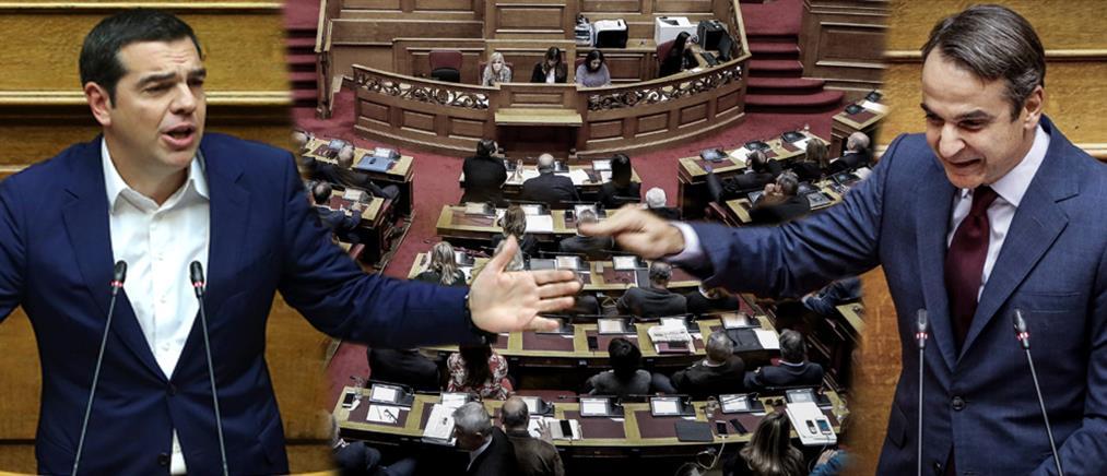 Σύγκρουση κορυφής στην Βουλή με φόντο τον Προϋπολογισμό