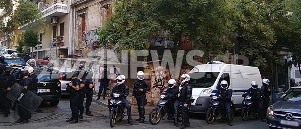 Εκκένωση υπό κατάληψη κτιρίου στο Παγκράτι