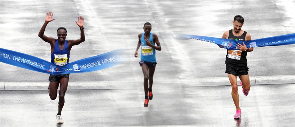 37ος Μαραθώνιος: δύο Κενυάτες και ένας Έλληνας στο βάθρο