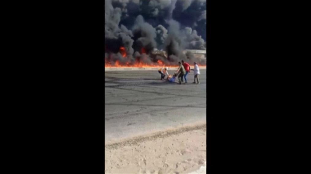 Έκρηξη σε αγωγό πετρελαίου στην Αίγυπτο