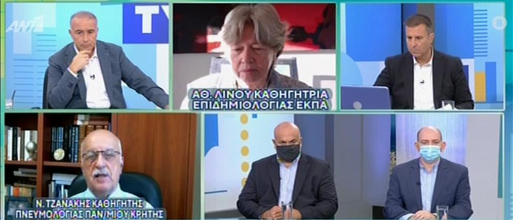 Πρόβλεψη – σοκ για 50000 ενεργά κρούσματα κορονοϊού στην Ελλάδα (βίντεο)