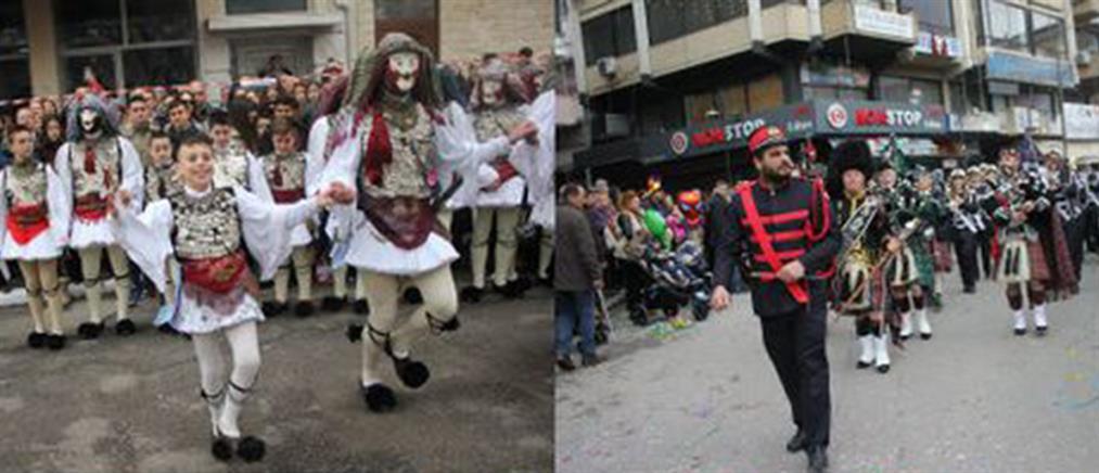 """Έκλεψαν την παράσταση οι """"Μπούλες"""" στο καρναβάλι της Νάουσας (βίντεο)"""