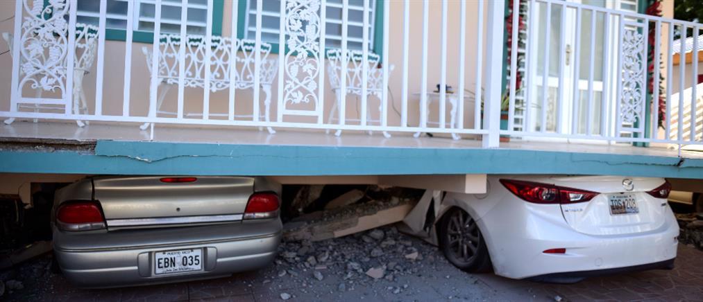 Καταστροφές από τον ισχυρό σεισμό στο Πουέρτο Ρίκο (εικόνες)