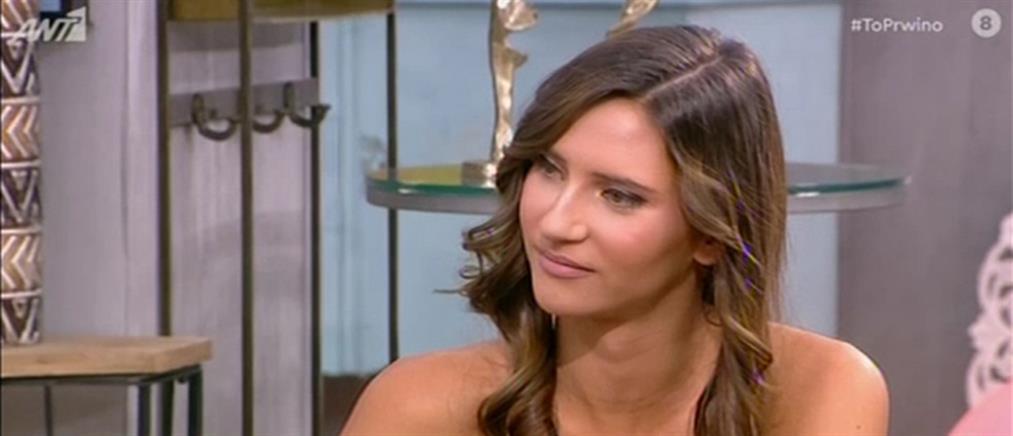 """Η Μαρία Μιχαλοπούλου στο """"Πρωινό"""": Η """"Φάρμα"""", η λαϊκή και το πρόβλημα υγείας (βίντεο)"""