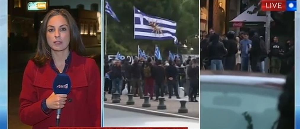 Θεσσαλονίκη: παράλληλες συγκεντρώσεις υπέρ και κατά των μεταναστών (βίντεο)