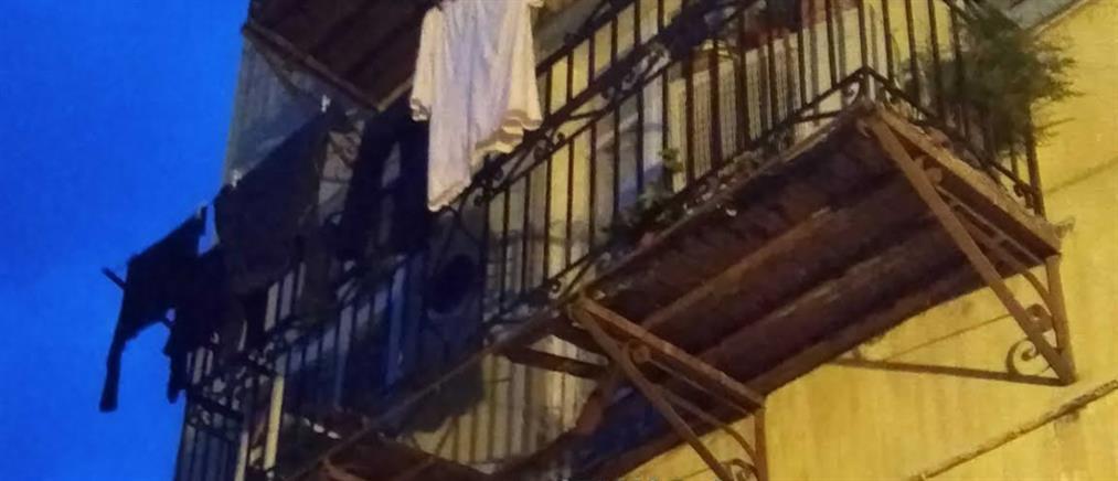 Κατάρρευση μπαλκονιού και πτώση γυναίκας από 10 μέτρα (εικόνες)