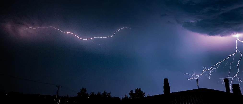 Καιρός: τοπικές βροχές και καταιγίδες την Τετάρτη