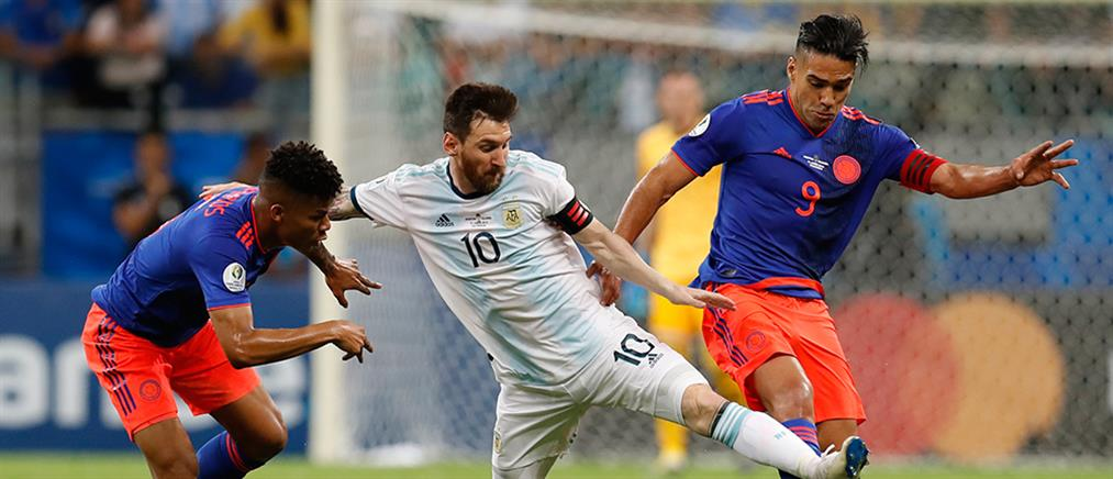 """Copa America: """"πατατράκ"""" για την Αργεντινή με το… καλημέρα"""