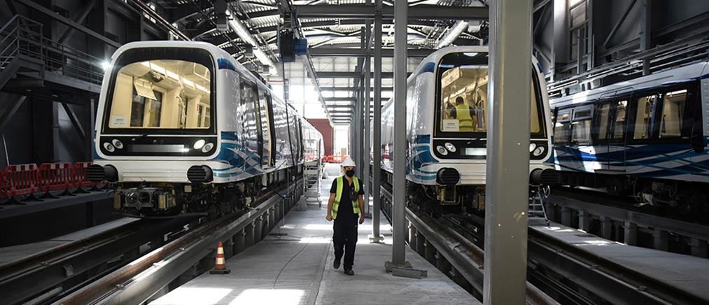 Το μετρό Θεσσαλονίκης σε κίνηση για πρώτη φορά (εικόνες)