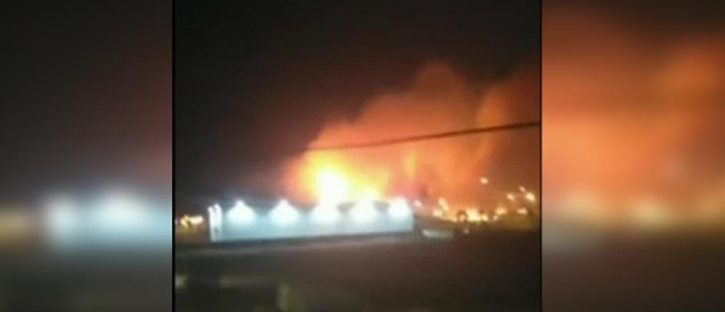 Φωτιά στον Ασπρόπυργο: οριοθετήθηκε το πύρινο μέτωπο