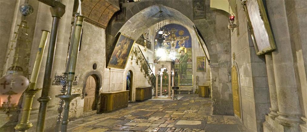 Ξεκίνησε η αναστήλωση του Ιερού Κουβουκλίου του Πανάγιου Τάφου
