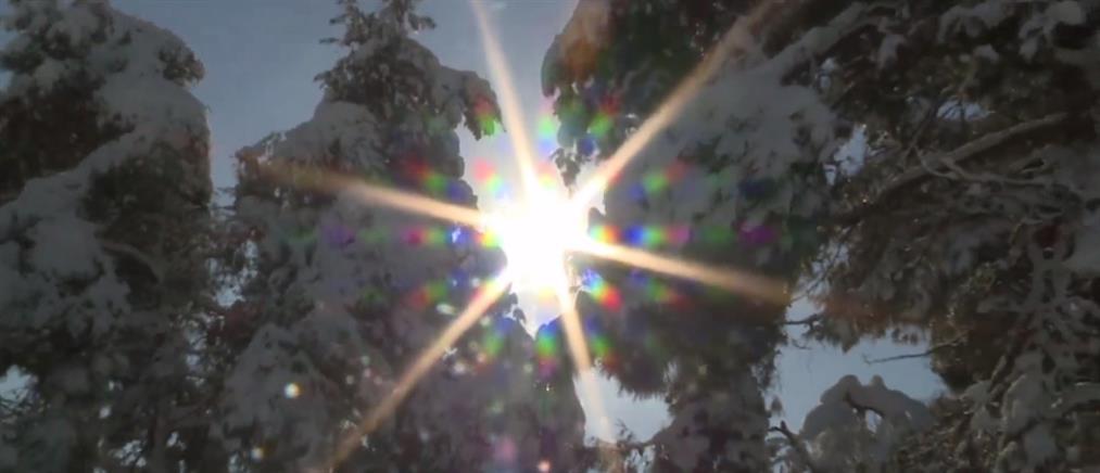 25η Μαρτίου με χιόνια από την Κομοτηνή μέχρι την Κρήτη (βίντεο)
