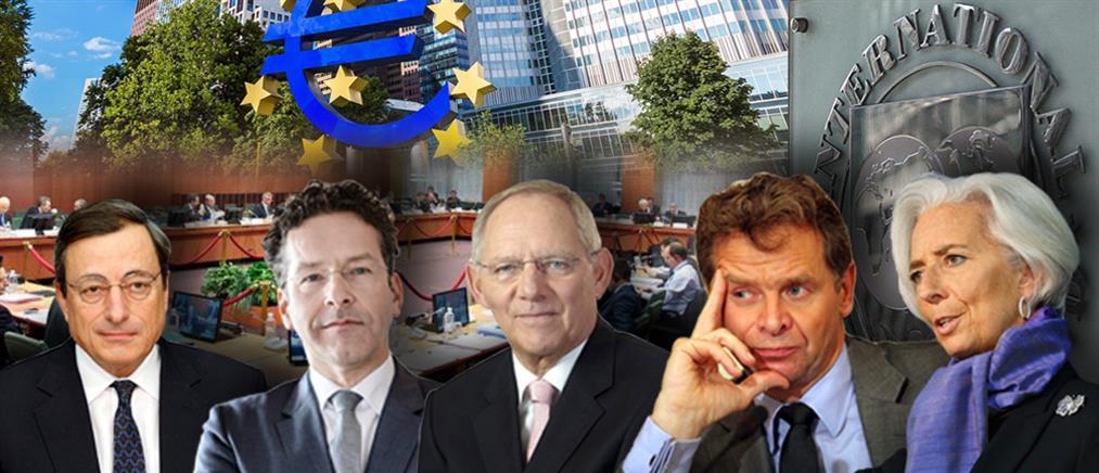 """Στις """"Συμπληγάδες"""" ΔΝΤ και Ευρωπαίων η αξιολόγηση"""
