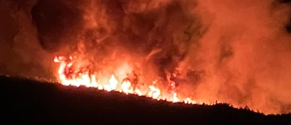 Φωτιές στην Αττική: Έως την Κρήτη έφθασε ο καπνός (εικόνες)