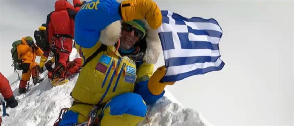 """Αντώνης Συκάρης: ο πρώτος Έλληνας αναβάτης που """"κατέκτησε"""" το Annapurna"""
