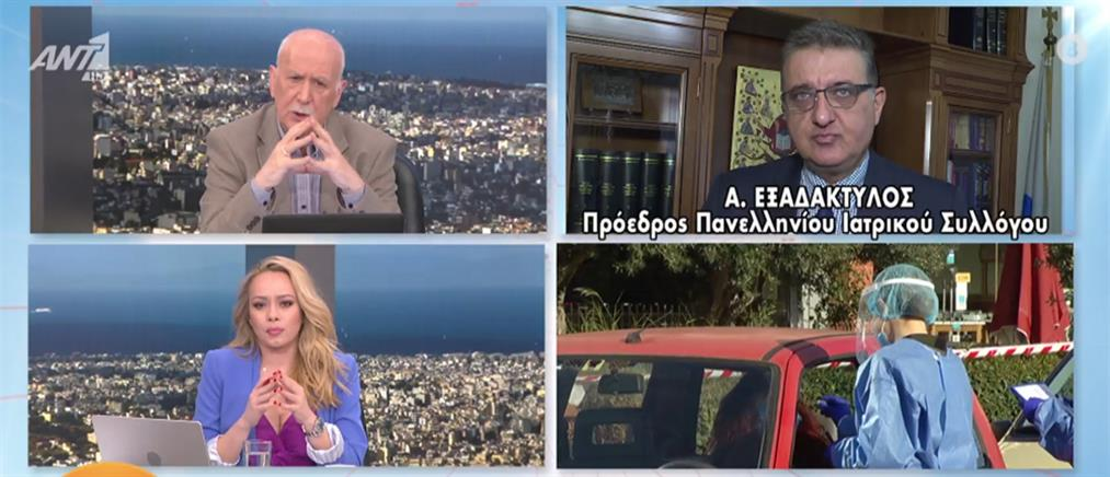 Κορονοϊός -Εξαδάκτυλος στον ΑΝΤ1: λιανεμπόριο ανοιχτό με όρους (βίντεο)