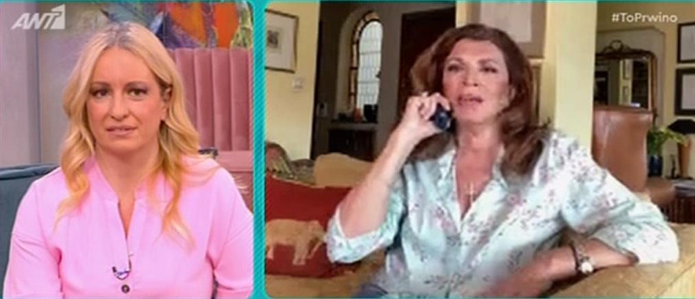 Μιμή Ντενίση: δύσκολο καλοκαίρι για τα θέατρα (βίντεο)