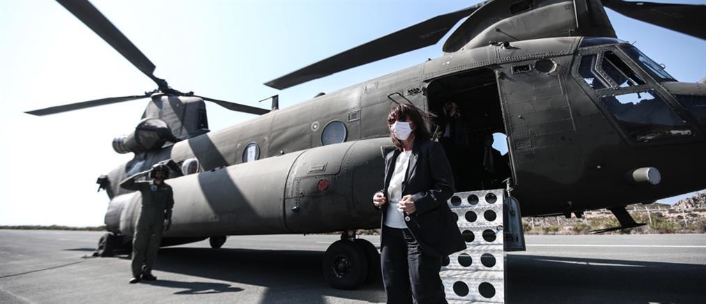 Σακελλαροπούλου: Το Καστελόριζο αποτελεί πολύτιμο κομμάτι της πατρίδας