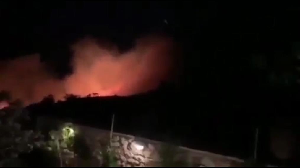 Μεγάλη φωτιά στην Ζάκυνθο