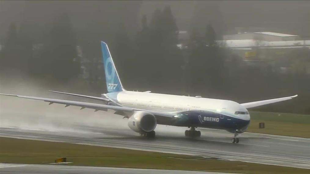 Η παρθενική πτήση του Boeing 777X