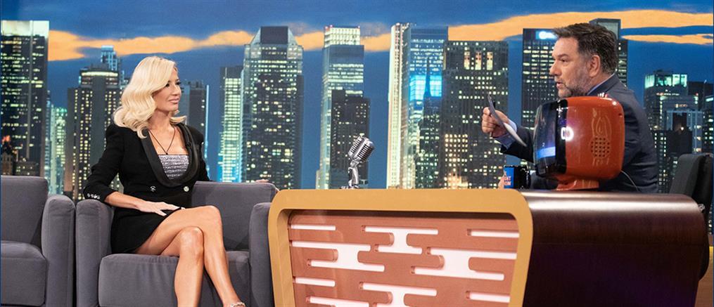 """The 2night show"" - Φαίη Σκορδά: Η τηλεόραση, o Λιάγκας και ο δεύτερος γάμος (βίντεο)"