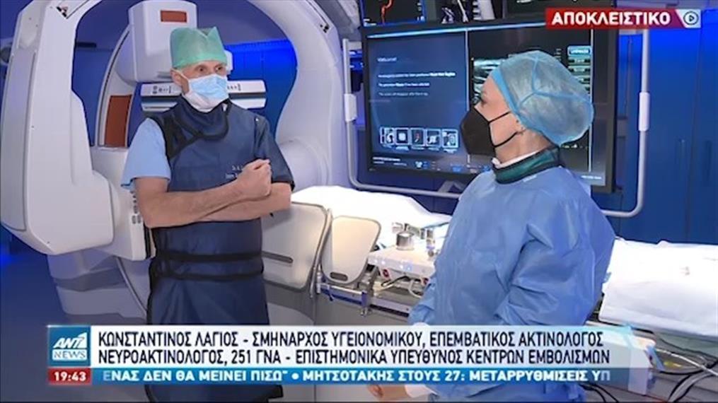 «Υγεία πάνω απ' όλα»: η κάμερα της εκπομπής βρέθηκε στο 251 νοσοκομείο Αεροπορίας