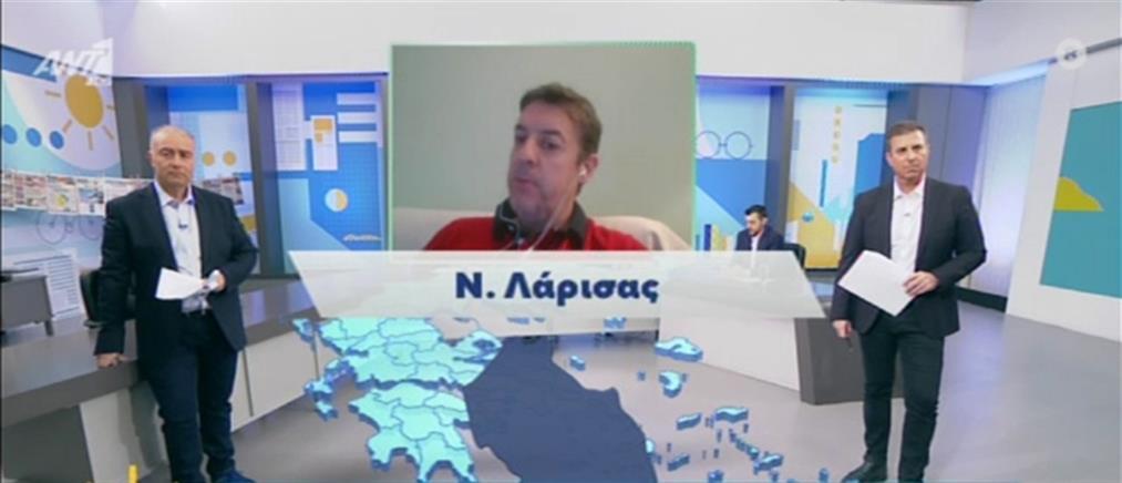 Κορονοϊός - Μακρής στον ΑΝΤ1: με πιο αυστηρά κριτήρια η εισαγωγή σε ΜΕΘ (βίντεο)