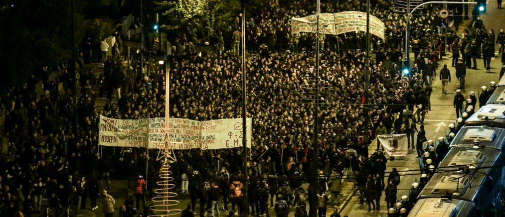 """""""Φρούριο"""" η Αθήνα για την επέτειο της εξέγερσης του Πολυτεχνείου (εικόνες)"""
