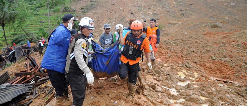 Ινδονησία: τραγωδία μετά από κατολίσθηση (εικόνες)