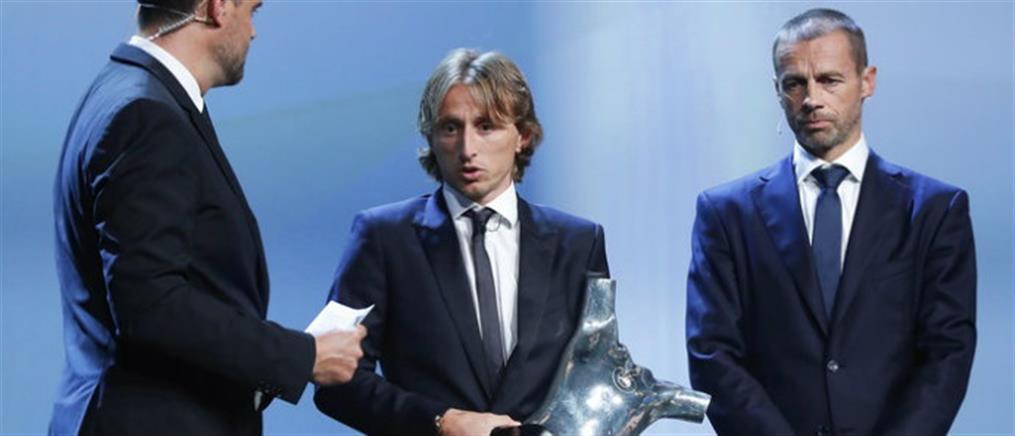 UEFA: ποδοσφαιριστής της χρονιάς ο Λούκα Μόντριτς