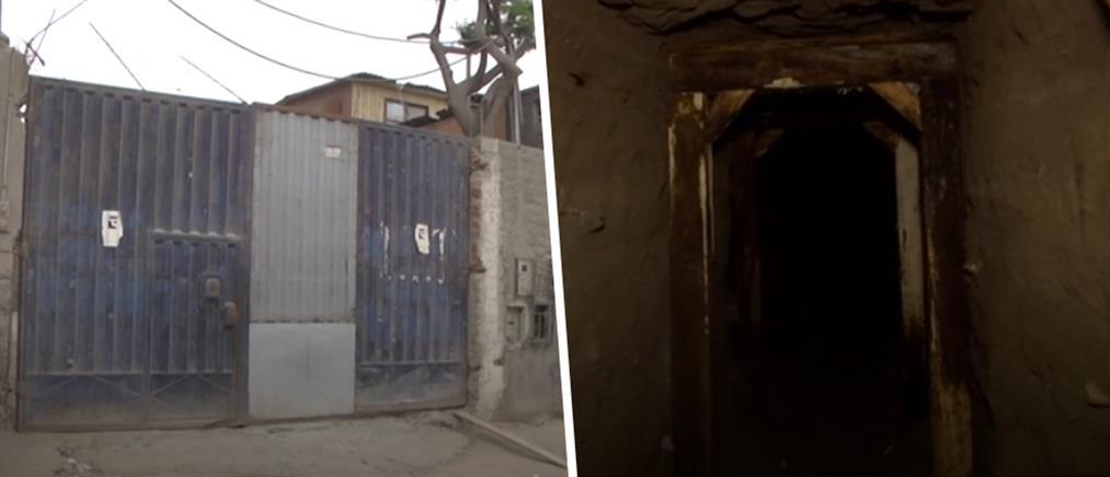 Τούνελ 200 μέτρων δίπλα σε φυλακή (εικόνες)
