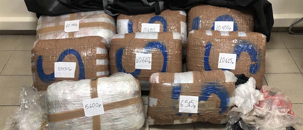 Θεσσαλονίκη: κατασχέθηκαν πάνω από 80 κιλά κάνναβης!