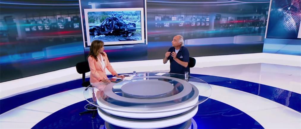 Ιαβέρης στον ΑΝΤ1: γιατί ειναι διαχρονικά τραγική η συμπεριφορά του Έλληνα οδηγού (βίντεο)