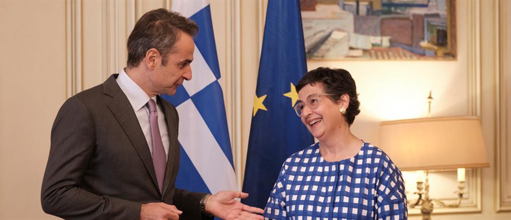 Μητσοτάκης και Λάγια συζήτησαν για τουρκικές προκλήσεις και Αγία Σοφία