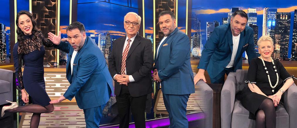"""The 2Night Show"": ποιοι καλεσμένοι κάνουν ποδαρικό (εικόνες)"
