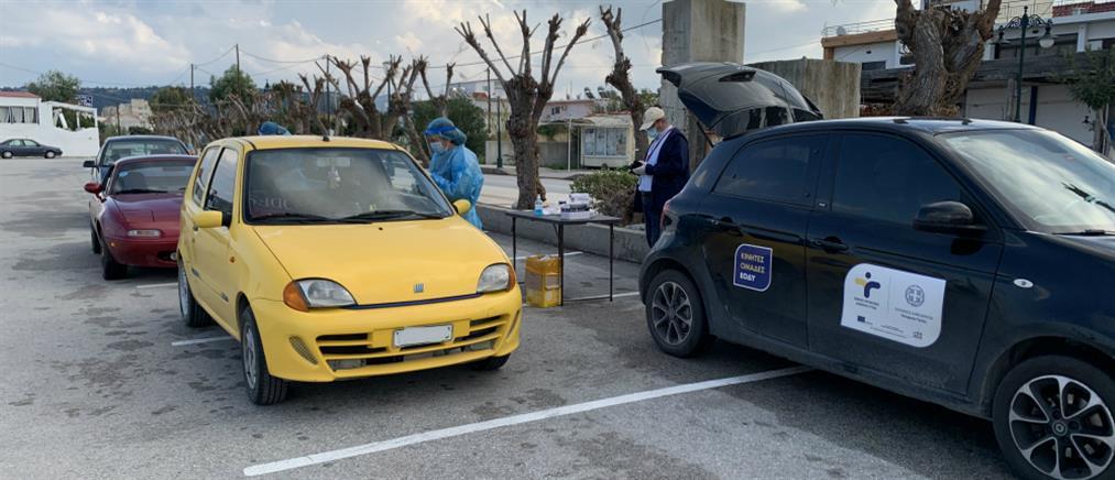Κορονοϊός: Τι έδειξαν τα rapid test την Δευτέρα