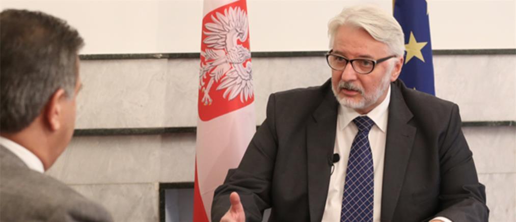 Ο ΥΠΕΞ της Πολωνίας στον ΑΝΤ1 για προσφυγικό και Brexit (βίντεο)
