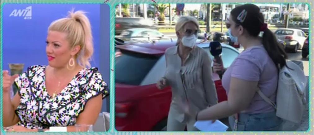 """Η Ελένη Μενεγάκη στο """"Πρωινό"""" για την επιστροφή στην τηλεόραση (βίντεο)"""