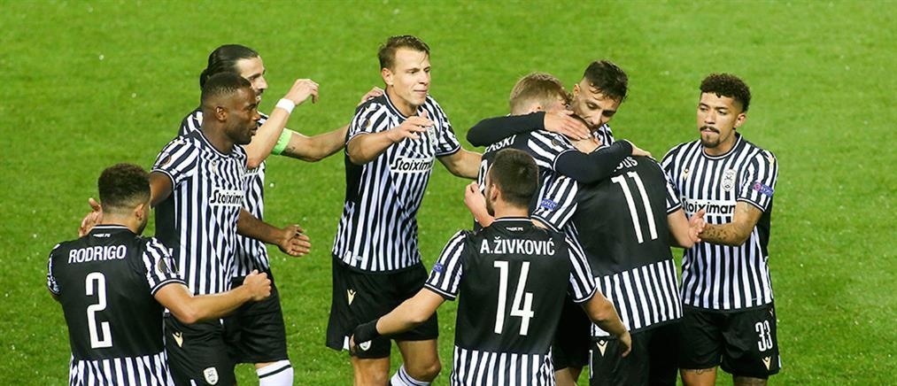Europa League: Ο ΠΑΟΚ συνέτριψε την Αϊντχόφεν
