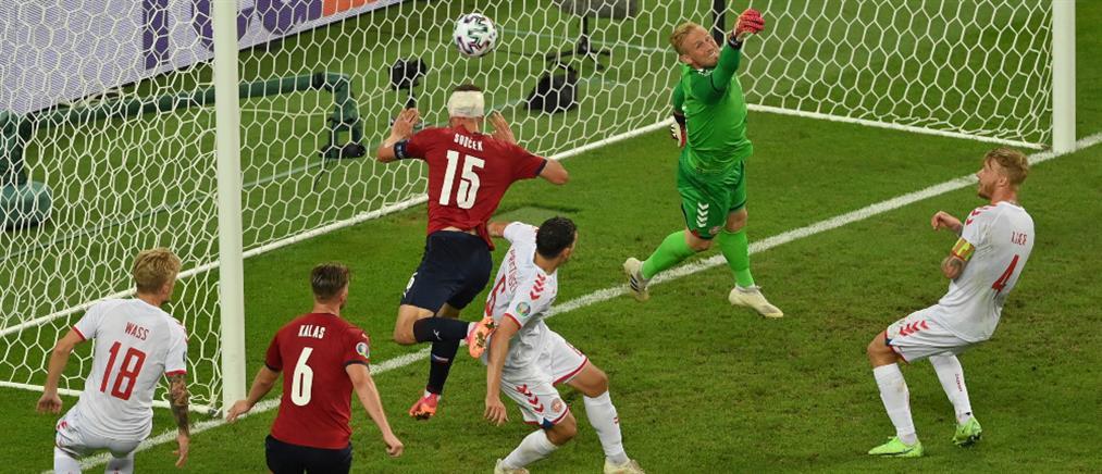 """Euro 2020: Η Δανία στους """"4"""" με νίκη επί της Τσεχίας (βίντεο)"""