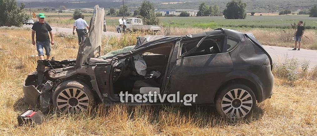 Θεσσαλονίκη: Καραμπόλα στο ίδιο σημείο που έγινε το δυστύχημα πριν λίγες ώρες (εικόνες)
