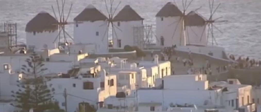 Μύκονος: μάστιγα οι κλοπές και διαρρήξεις (βίντεο)
