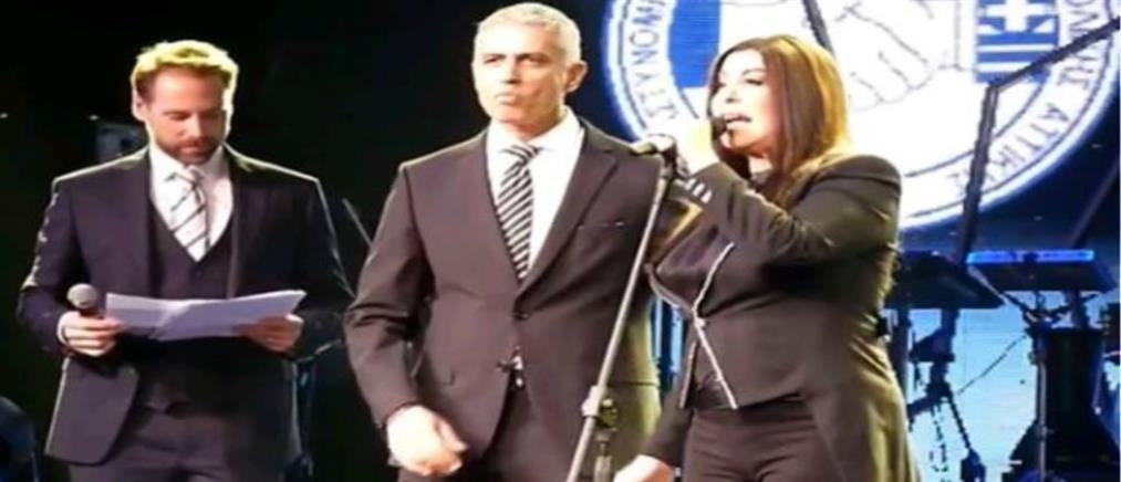 Η Άντζελα Δημητρίου βραβεύτηκε από την ΕΛΑΣ! (βίντεο)