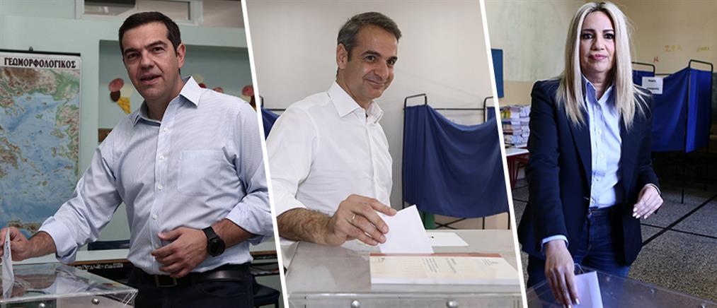 Εκλογές 2019: τα μηνύματα των πολιτικών αρχηγών μετά την κάλπη