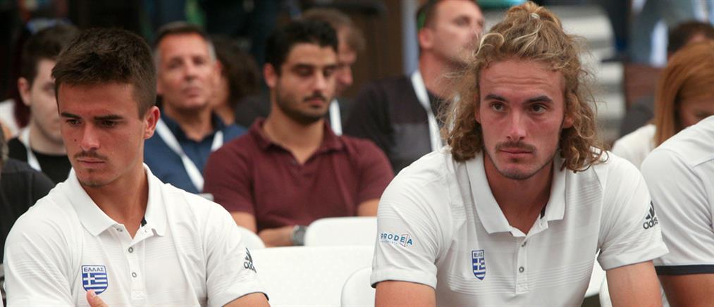 Australian Open: ήττα στο διπλό για τους αδερφούς Τσιτσιπά