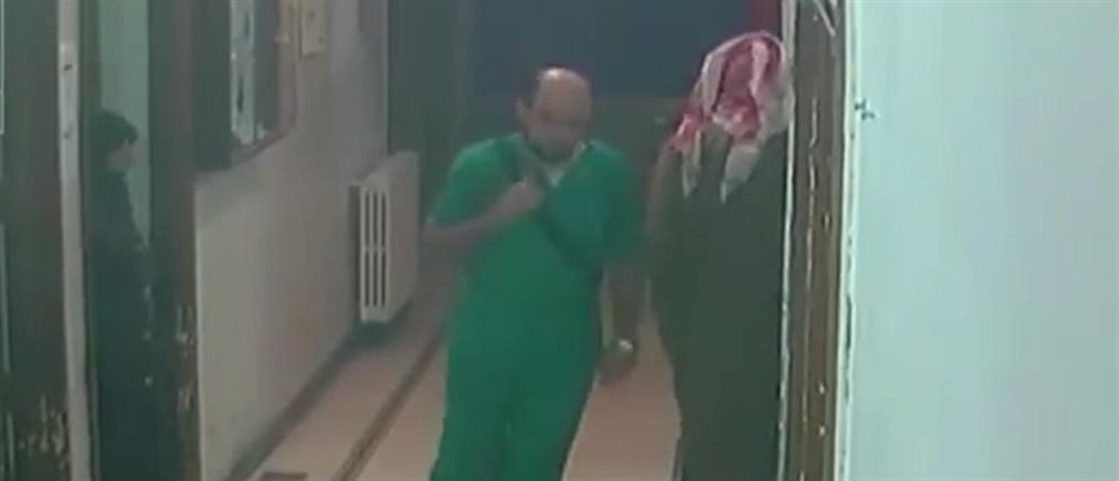 Ντοκουμέντο από τον βομβαρδισμό νοσοκομείου στη Συρία (Βίντεο)