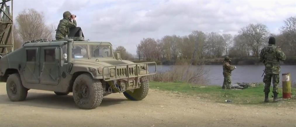 Έβρος: Εντυπωσιακές εικόνες από τις δράσεις των Ενόπλων Δυνάμεων στα σύνορα (βίντεο)