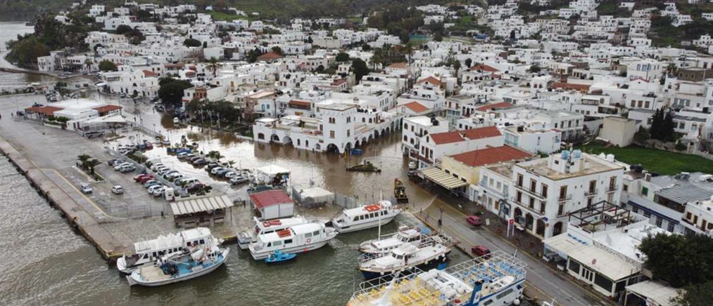 Πλημμύρες στην Πάτμο